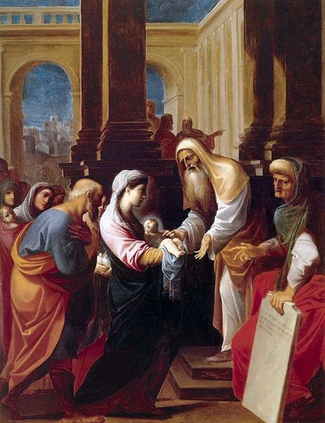 Znalezione obrazy dla zapytania symeon błogosławi jezusa