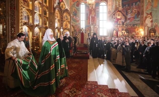 Cyryl I w centrum polskiego prawosławia  infowiarapl