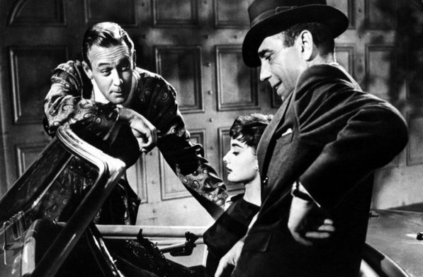 William Holden, Audrey Hepburn i Humphrey Bogart