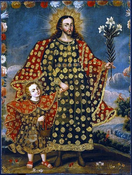 Znalezione obrazy dla zapytania św Józef