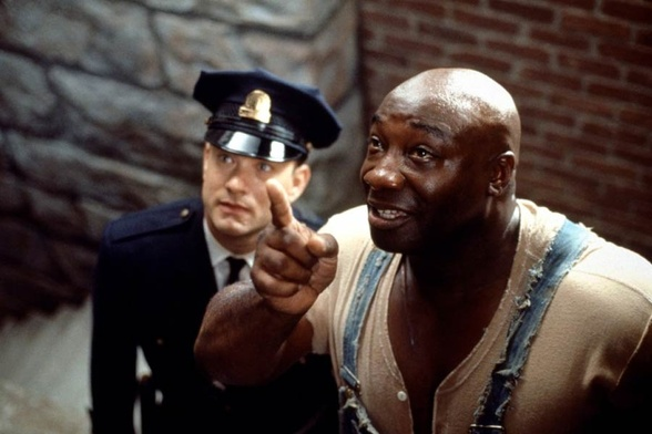 Tom Hanks i Michael Clarke Duncan