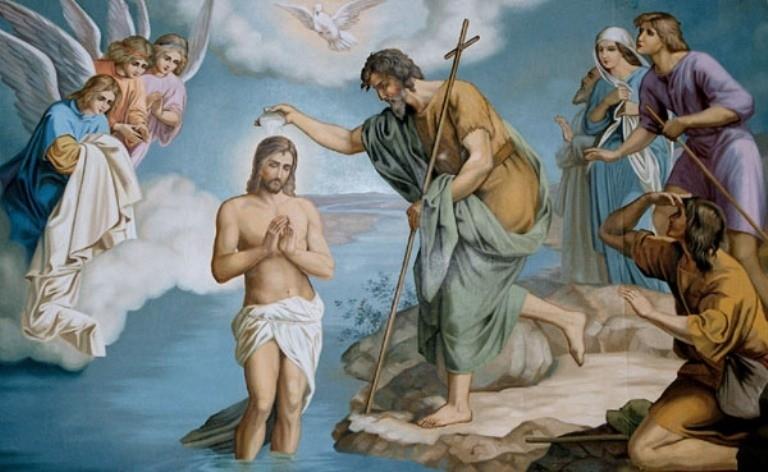 Znalezione obrazy dla zapytania swieto chrztu pańskiego
